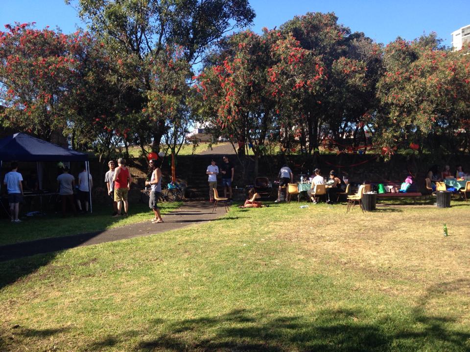 Aniversário de amigos - Sydney Park
