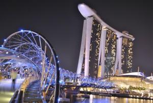 Paisagem de sonhos de quem quer morar em Singapura