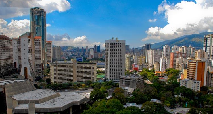 Caracas. um dos destinos de quem quer morar na Venezuela