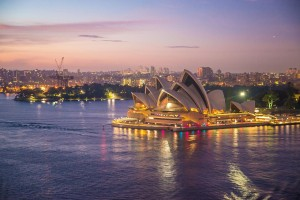 Sydney Opera House, em Sydney, Um dos principais destinos de quem quer fazer intercâmbio na Austrália