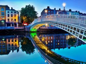 Ponte em Dublin, Um dos principais destinos de quem quer fazer intercâmbio na Irlanda