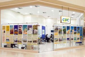 Agência de viagens e intercâmbio CVC