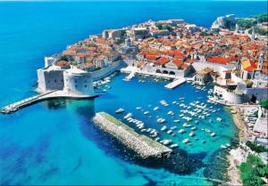 Cidade de Dubrovnik, Um dos principais destinos de quem quer morar na Croácia