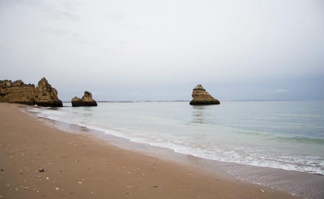 Praia Dona Ana, em Lagos