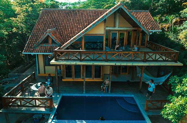 Casa alugada pela WiFi Tribe