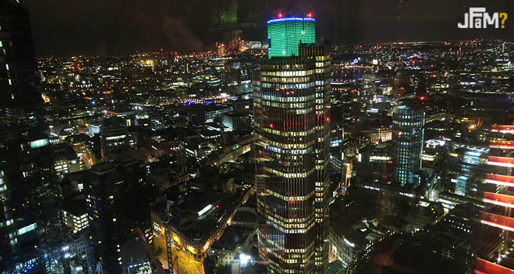 Vista do Duck and Waffle