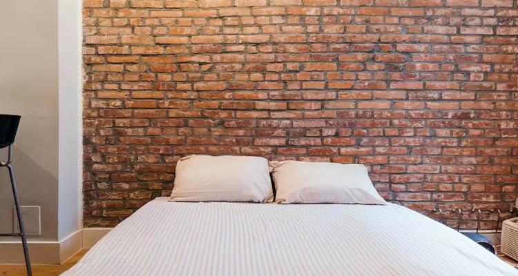 cama em apartamento no airbnb