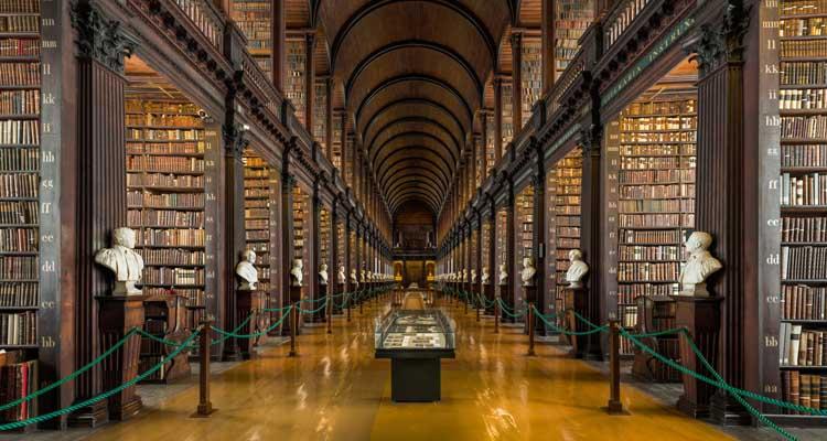 Biblioteca da Universidade de Dublin