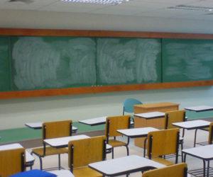 sala de aula em Portugal