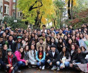 estudantes de inglês no canada