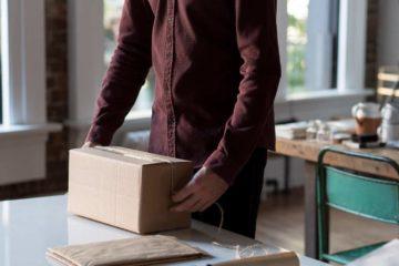 enviando pacote pela eurosender