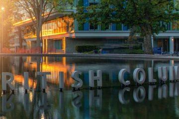 British Columbia, Universidade no Canadá