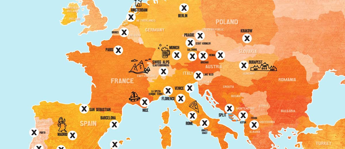 vaga de produtor de conteúdo na Europa pela Busabout