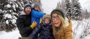 Família mochileira prova que dá para cair na estrada com os filhos