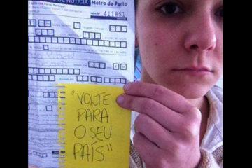 Cláudia Linck denuncia de preconceito e Xenofobia no metro do Porto