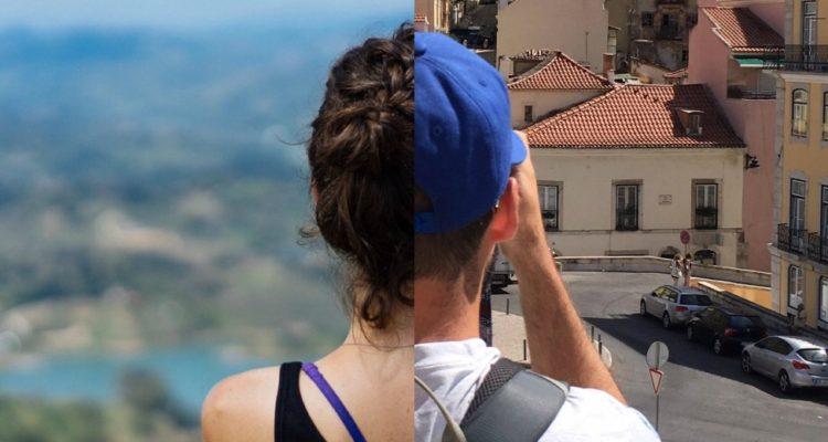 Esse casal viaja o mundo junto, mas separado
