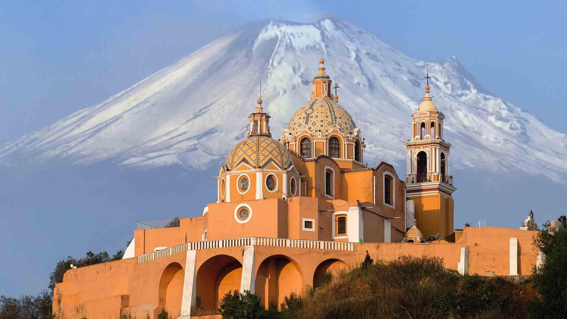 Santuário de La virgem de Los Remedios, no México
