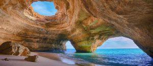 Benagil Cave, Algarve.