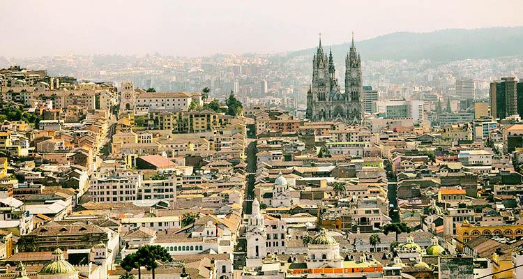 Quito, capital equatoriana