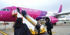 Wizz air, uma das companhias aéreas baratas na Europa (low cost)