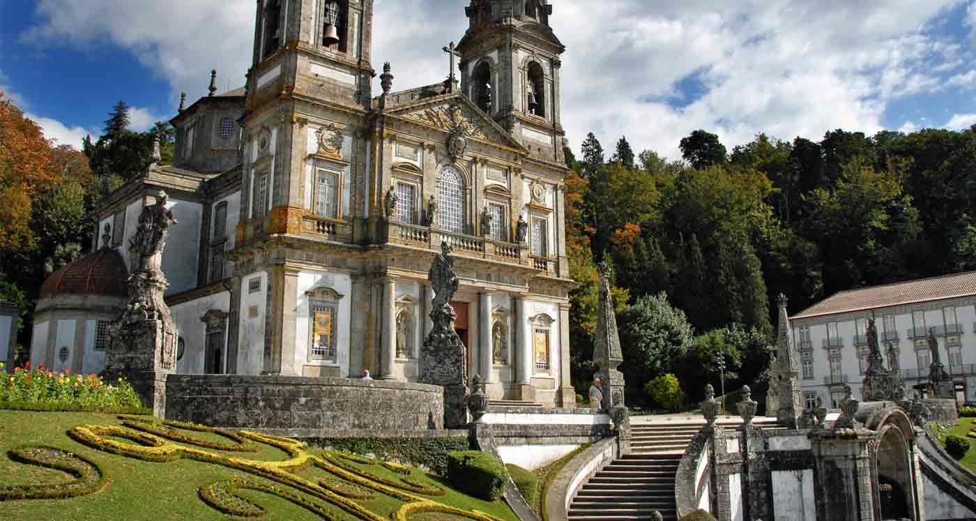 Santuário, em Braga