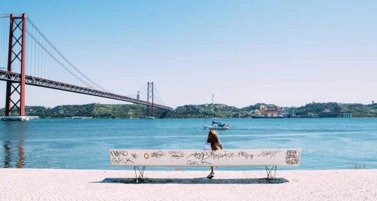 vista de Lisboa, principal cidade de Portugal