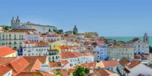 vista de Lisboa, Portugal