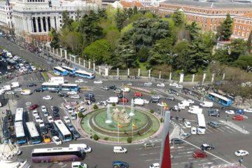 dirigindo na Espanha