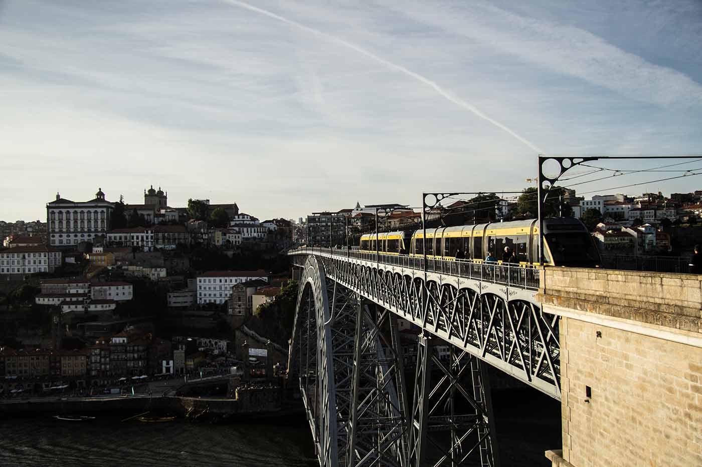 Ponte Dom Luis I, no Porto