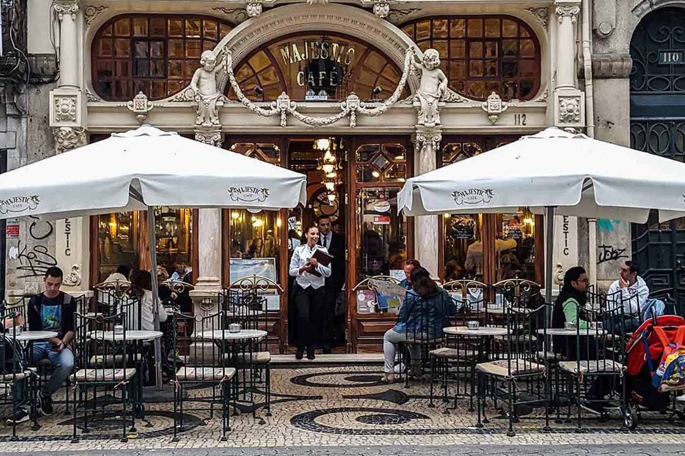 Café Majestic, Santa Catarina, Porto
