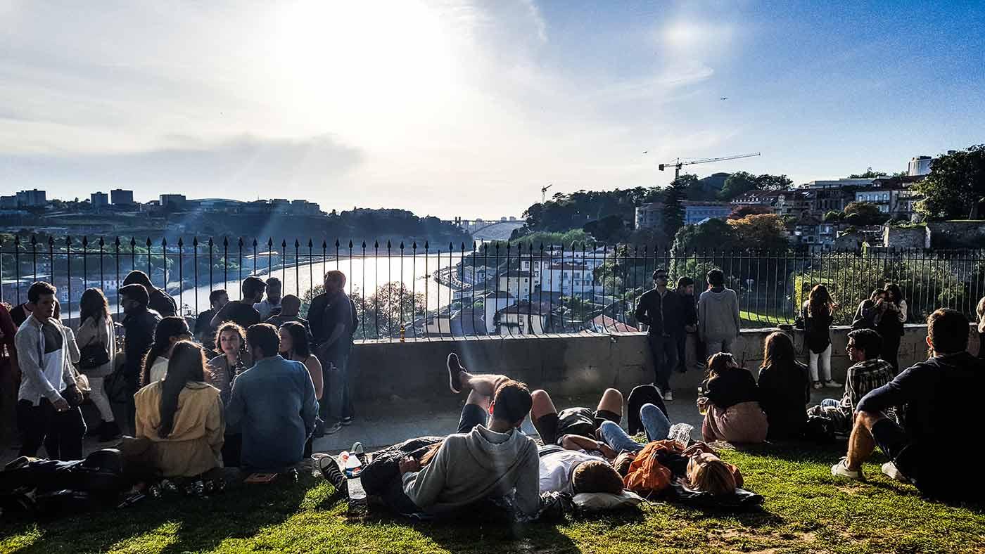 Passeio das Virtudes, no Porto