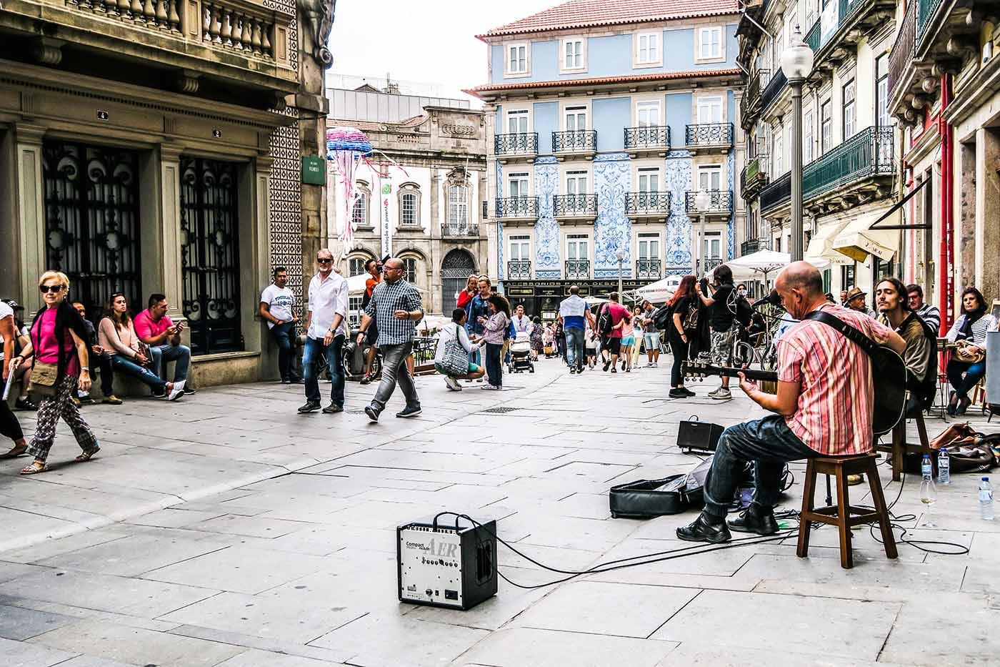Rua das Flores, no Porto
