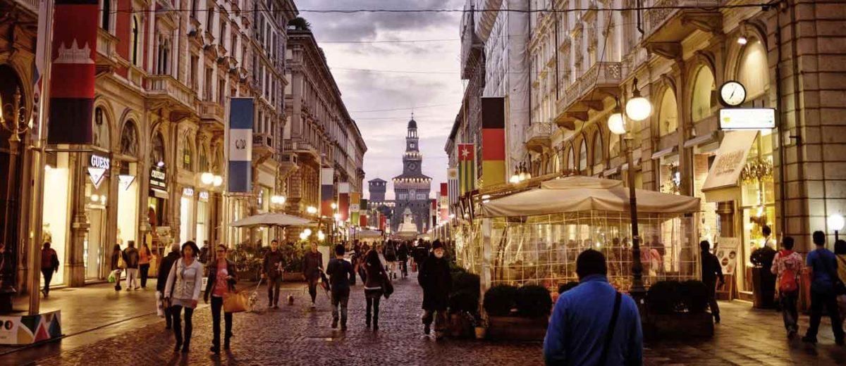 Milão, tem um dos custos de vida na Itália mais altos