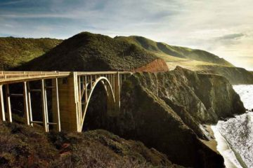BIXBY BRIDGE, no Big Sur