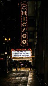 chicago à noite