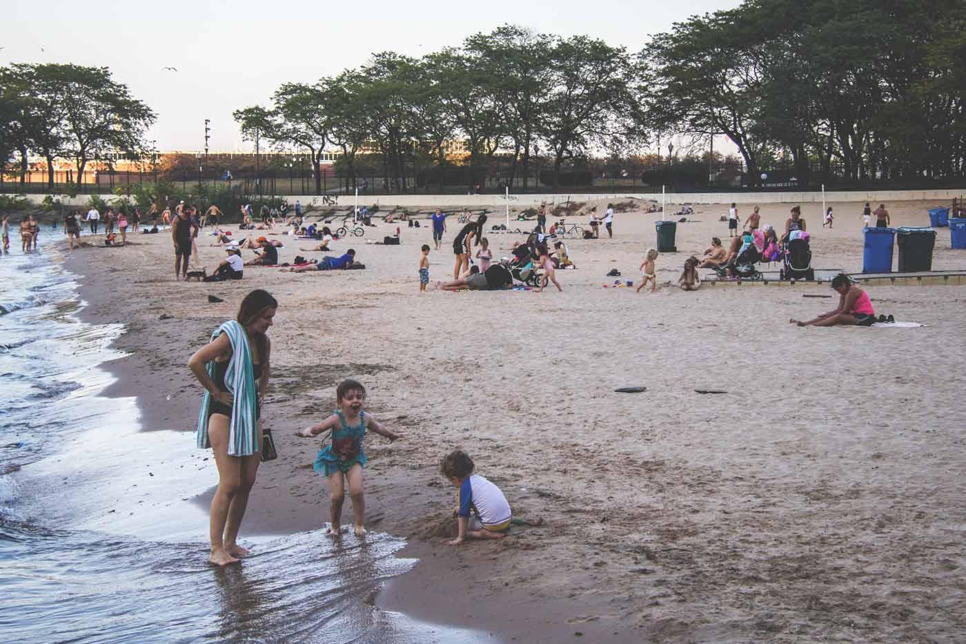 praia em chicago