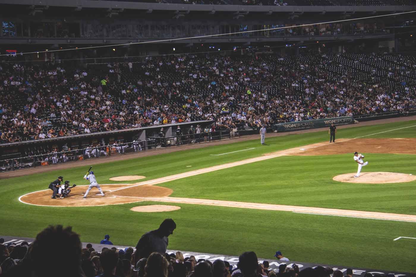 Jogo de beisebol em chicago