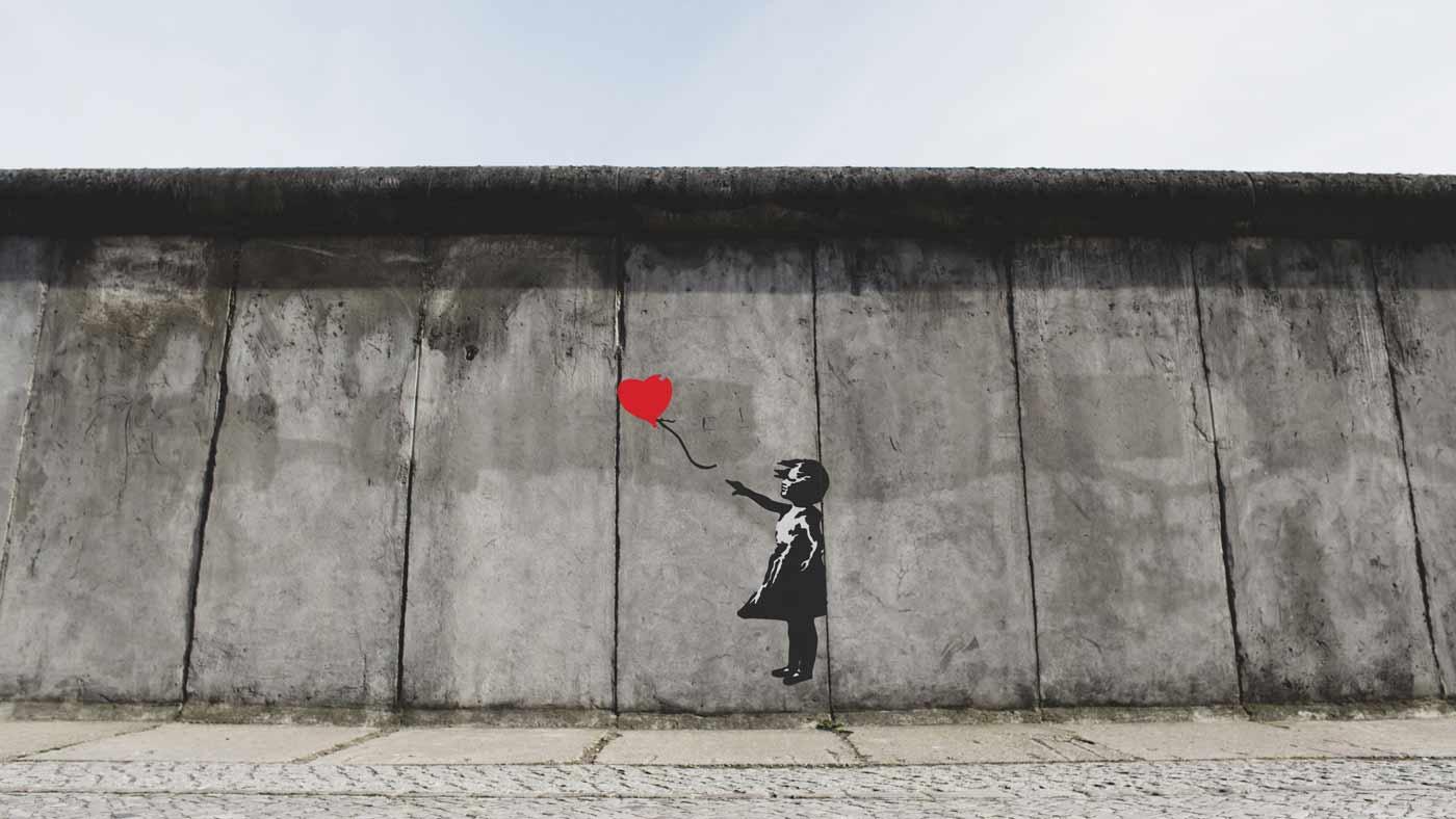 grafite de amor