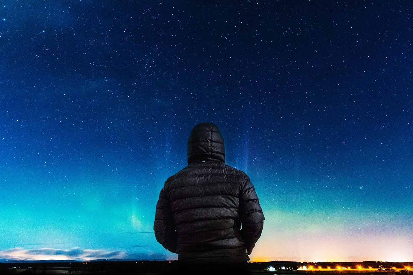 olhando as estrelas