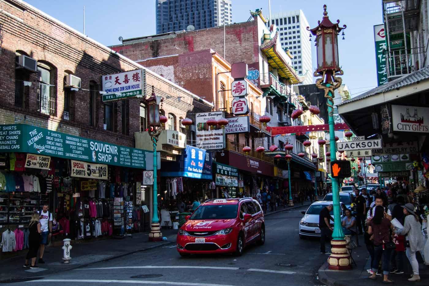 Chinatown em São Francisco