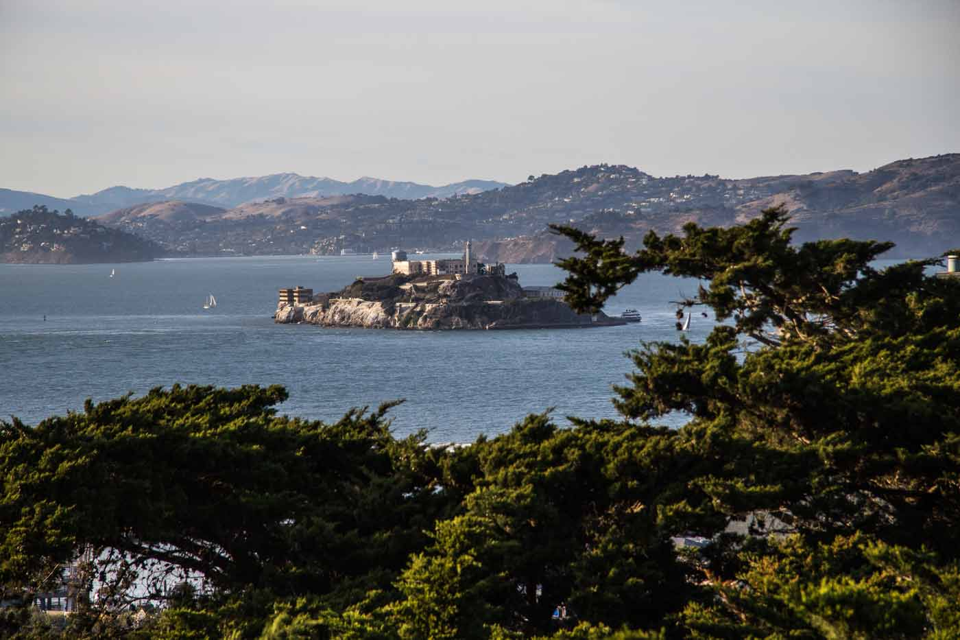Alcatraz, em São Francisco
