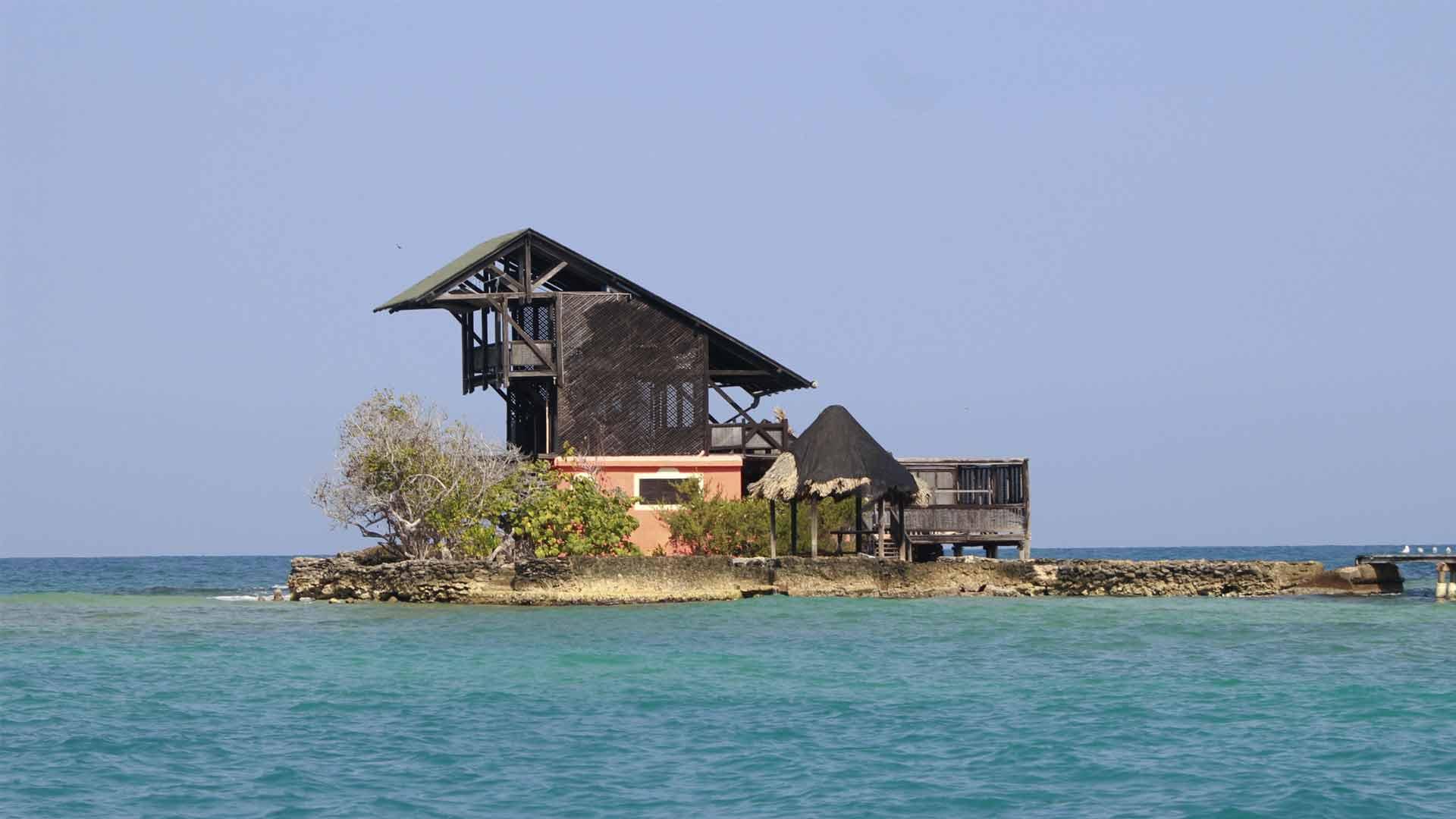 Islas del Rosário em Cartagena