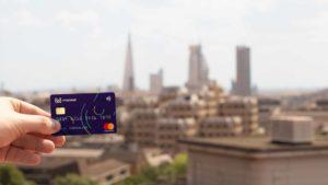 cartão da conta monese