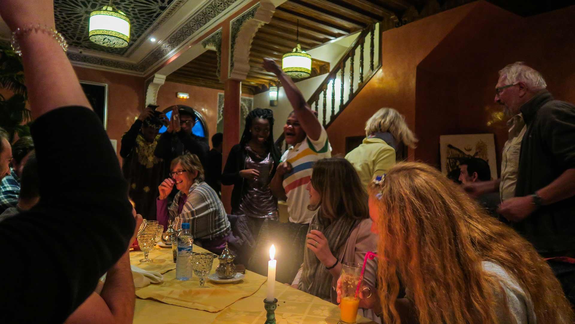 Jantar em Essaouira