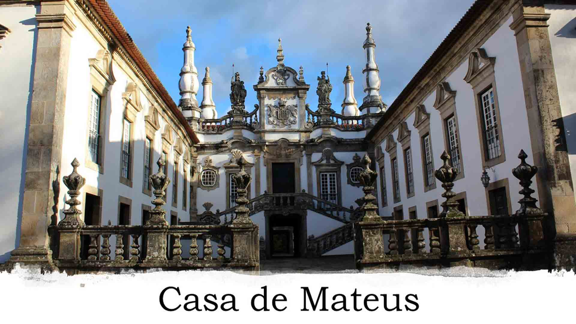 Fachada da Casa de Mateus