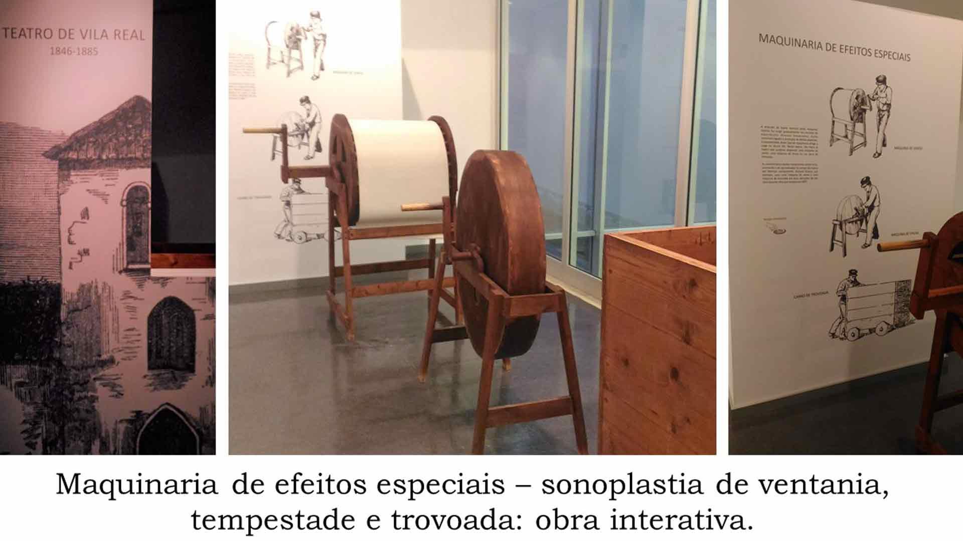 Imagem da exposição no Museu da Imagem e do Som