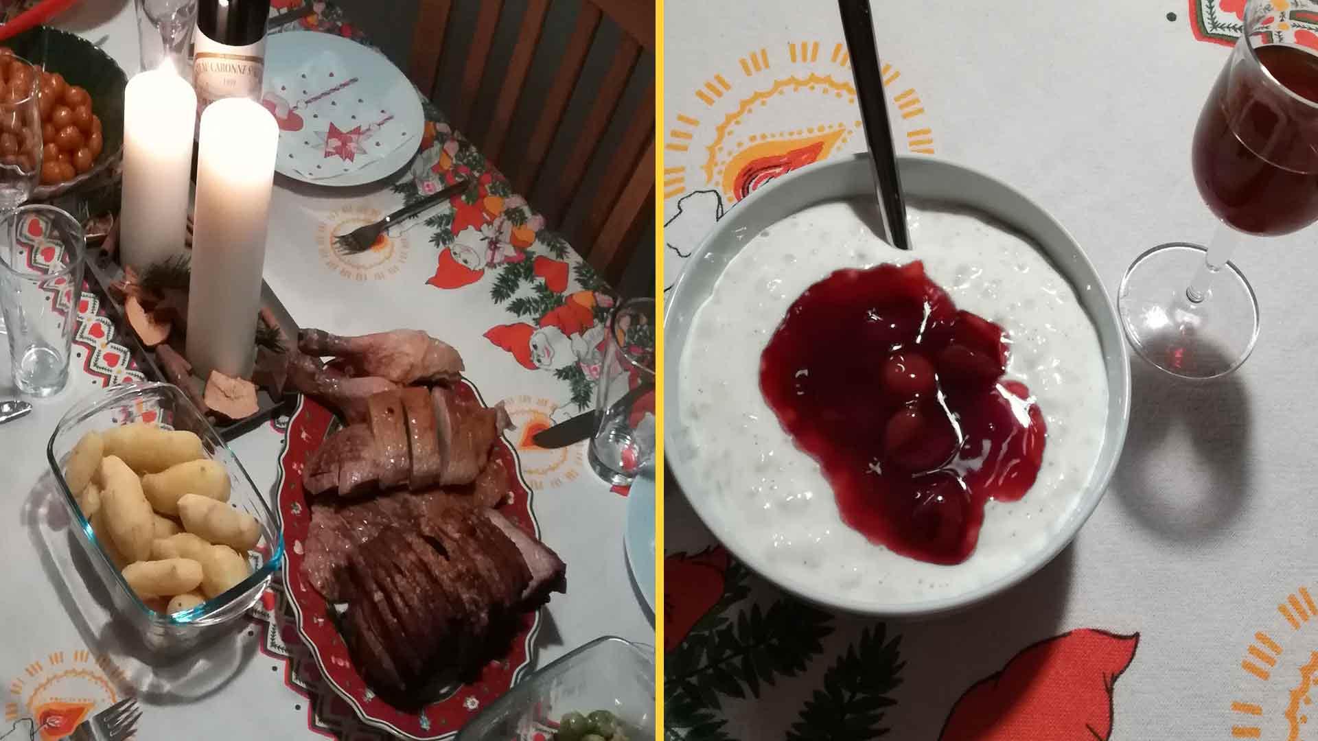 Pratos típicos do jantar de Natal na Dinamarca