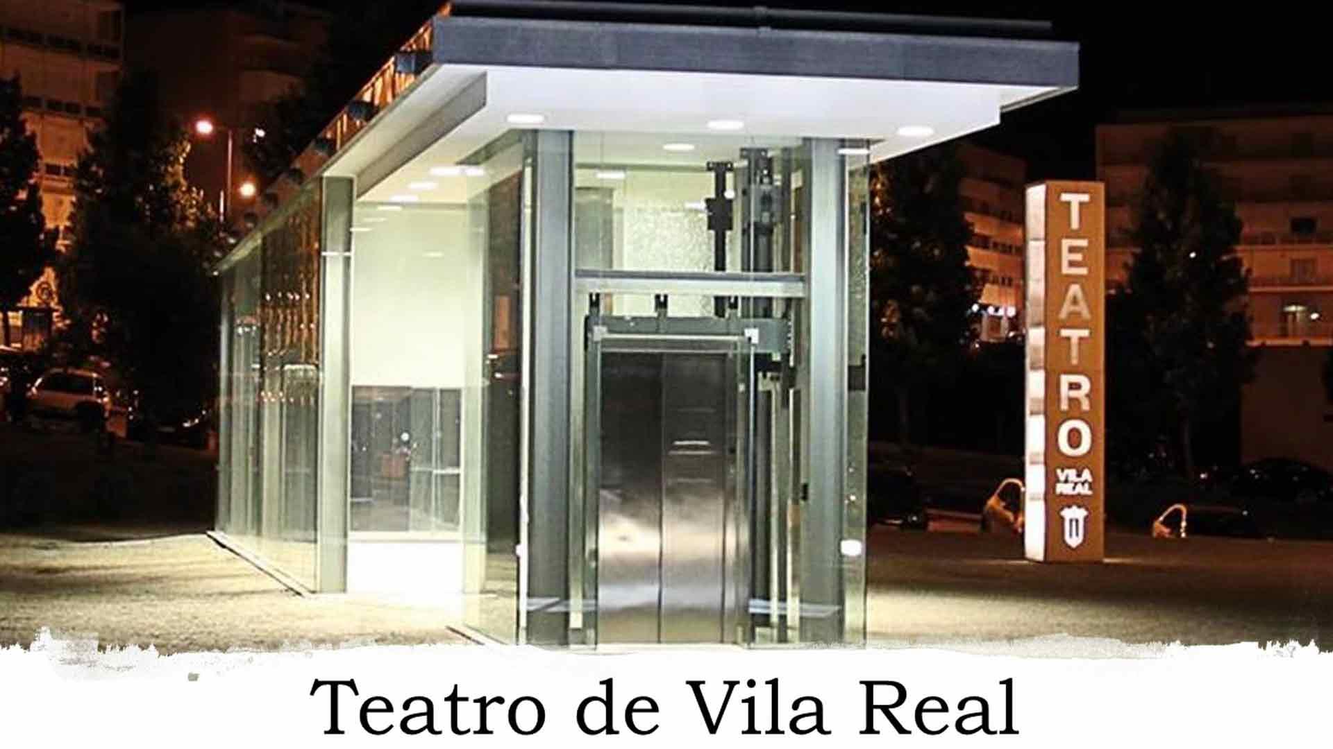 Frente do Teatro de Vila Real