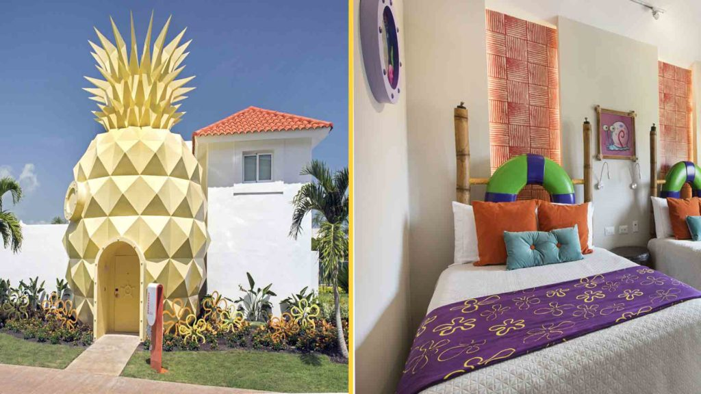 Suíte The Pineapple, no Nickelodeon Resort Punta Cana
