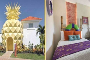 Suíte The Pineapple, no Nickelodeon Resort Punta Cana